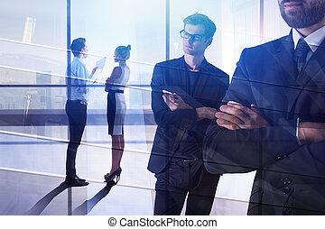 Trabajo en equipo y el concepto de discusión
