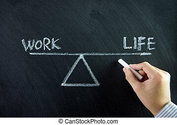 Trabajo equilibrio de vida