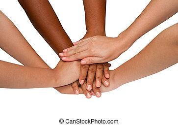 trabajo, espíritu, grupo, después, trabajo en equipo, exitoso, equipo