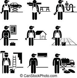Trabajos hábiles