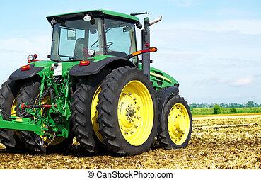 Tractor en campo
