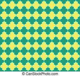 tradicional, motif., fondo., islámico, mezquita, seamless, ventana, marroquí, pattern., linterna