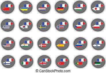 traducción, francés