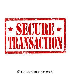 transaction-stamp, seguro