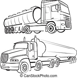 transporte de camión