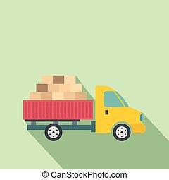 Transporte de carga en coche