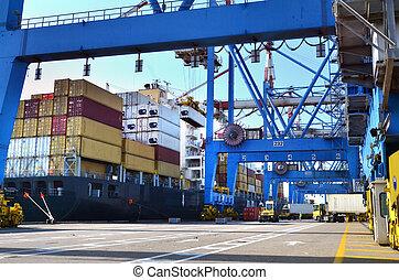 Transporte de transporte marítimo