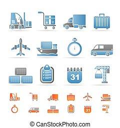 transporte, logística, envío