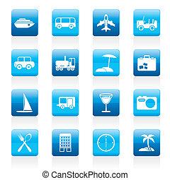 transporte, viaje, turismo