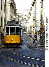 tranvía, lisboa, 28, portugal