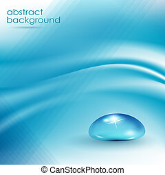Trasfondo abstracto azul