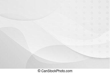 Trasfondo abstracto blanco y suave. Ilustración y vector