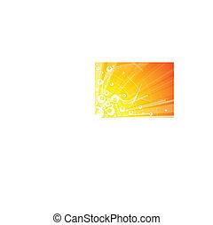 Trasfondo abstracto con círculos