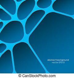 Trasfondo abstracto de la red