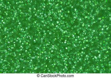 Trasfondo abstracto de Navidad de brillo verde