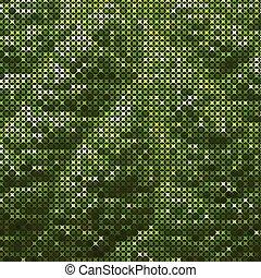Trasfondo abstracto de texto verde