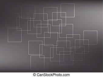Trasfondo abstracto, ilustración vectorial.