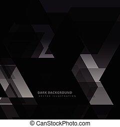 Trasfondo abstracto oscuro