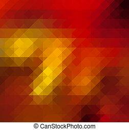 Trasfondo abstracto rojo