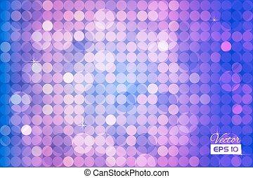 Trasfondo abstracto y colorido con círculos