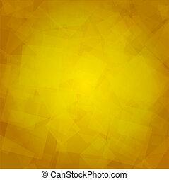 Trasfondo amarillo abstracto