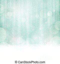 Trasfondo azul abstracto con luces borrosas