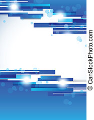 Trasfondo azul abstracto