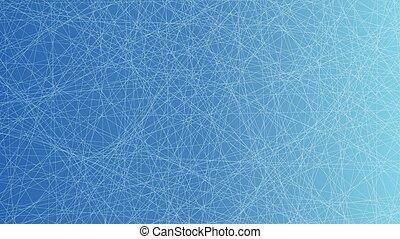 Trasfondo azul de la red
