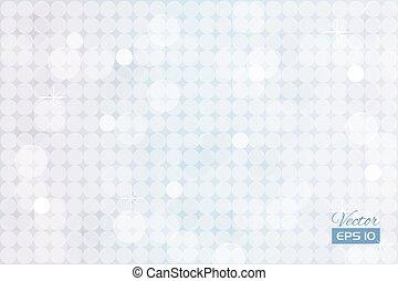 Trasfondo blanco abstracto con círculos