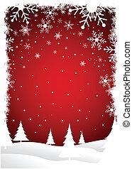 Trasfondo de árboles de Navidad