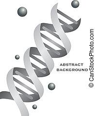 Trasfondo de ADN abstracto
