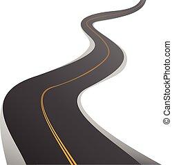 Trasfondo de carretera
