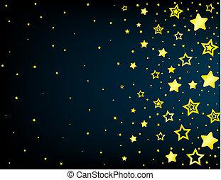 Trasfondo de color estrella de dibujos animados