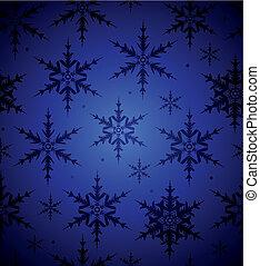Trasfondo de copos de nieve sin nada