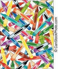 Trasfondo de Crayons