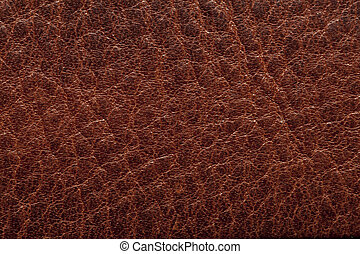 Trasfondo de cuero marrón
