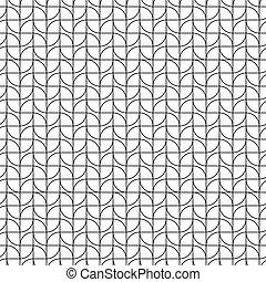 Trasfondo de diseño geométrico de arte sin costura
