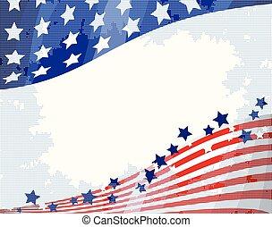 Trasfondo de flujo americano