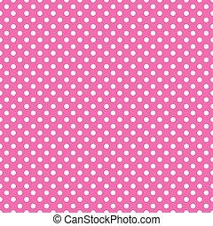Trasfondo de lunares rosados