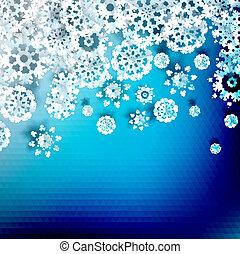 Trasfondo de luz azul abstracto. + EPS10