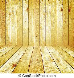 Trasfondo de madera retro