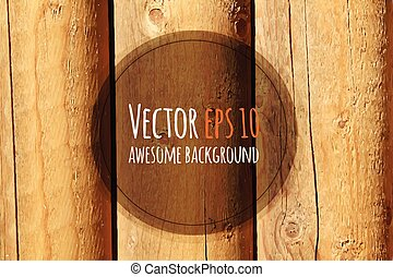 Trasfondo de madera Vector.