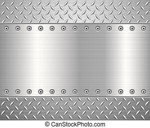 Trasfondo de metal diamante 2