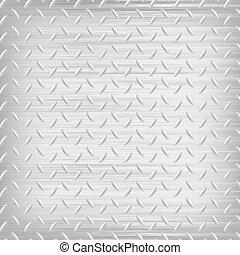 Trasfondo de metal gris.