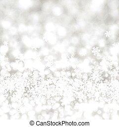 Trasfondo de Navidad de plata.