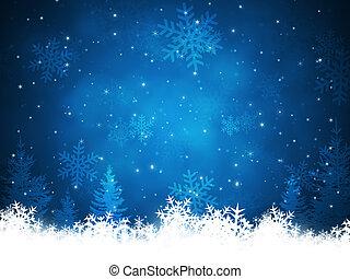 Trasfondo de nieve de Navidad