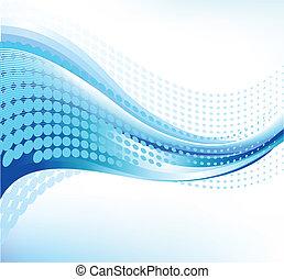 Trasfondo de ondas abstractas - 1
