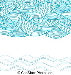 Trasfondo de ondas abstractas