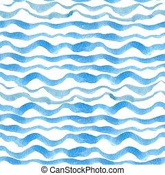Trasfondo de ondas de cianuro azul