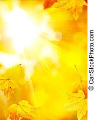 Trasfondo de otoño abstracto del arte